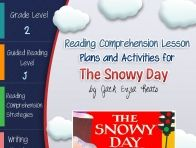 This lesson plan activity package for The Snowy Day comes complete with teacher guides, reading comprehension strategy lesson plans, reader's notebook worksheets, vocabulary activities, interactive ga...  click to read more
