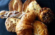 Mmm, a pile of our delicious pastries. You can almost smell them, non? #themainbakery #french #pastry