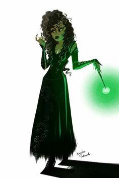 Bellatrix Lestrange Art....