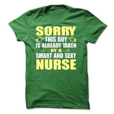 Sorry this guy is already taken by a smart and sexy nurse - Limited Edition