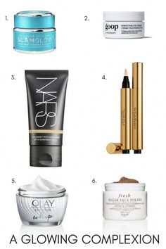 The best products for a glowing complexion. Beauty and skincare products that make you glow. MomTrends.com #beauty #glow #beautytips #complexion #glowingskin #CleanserForOilySkin Clear Skin Diet, Clear Skin Face, Cleanser For Oily Skin, Dewy Skin, Fresh Sugar Face Polish, How To Do Eyeshadow, How To Grow Eyebrows, Skin Mask, Makes You Beautiful