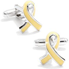 Support Our Troops Ribbon Cufflinks, Medical Cufflinks from Cufflinksman