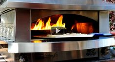 Watch a video of the Kalamazoo outdoor pizza oven