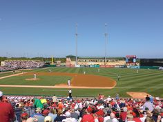 Roger Dean Stadium. Home of the St. Louis Cardinals Spring Training. Sorry, World Champion St. Louis Cardinals.