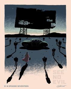 """herochan: """"Batman Poster Series (Set 2) Created by George Caltsoudas """""""