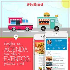 Tem NOVIDADE chegando no MyKind: agora você não vai perder mais nenhum evento de comida de rua. Na AGENDA do app você vai salvar os eventos próximos a você e o MyKind vai te avisar quando chegar o dia! Baixe o app: http://www.mykind.com.br/  #MyKind #MyKindApp #StreetFood #App #Tech #Innovation #ComidaDeRua #GuiaComidaDeRua #EventosSP #FoodPorn #FoodTrucks #FoodMarket #Foodporn #Delicious #Foodies #InstaFood #InstaGood