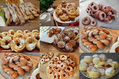 Pączki drożdżowe bardzo stary i sprawdzony przepis - Swojskie jedzonko Doughnut, Nutella, Waffles, Sausage, Cereal, Cookies, Meat, Baking, Breakfast