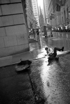 NYC. Wall St. Fall // by Richard Bram