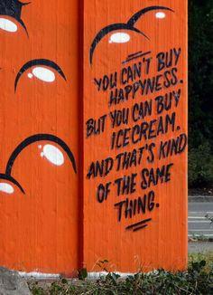Happy Ice Street Art   Lörrach