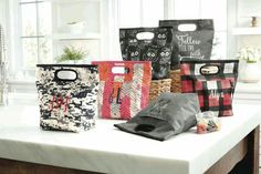 All new washableThirty-One Go-To Thermal! www.mythirtyone.com/tinautt & holds 8 cans of soda.