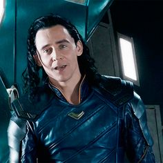 #TomHiddleston as #Loki in #ThorRagnarok. #LokiDay