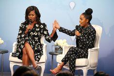 Michelle Obama and Yara Shahidi - Star Gazing 10.12.16