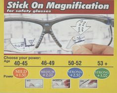 Optx 20/20 Stick On Magnification
