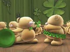 The Irish Dancing Bears - Riverdance - Amazing TeddyBears Friend Cartoon, Silly Songs, Blue Nose Friends, My Teddy Bear, Hallmark Cards, Bear Design, Tatty Teddy, St Paddys Day, Happy St Patricks Day