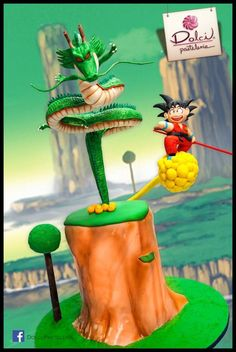 Looking for cake decorating project inspiration? Check out Dragon Ball Cake by member Dolci Pasteleria.