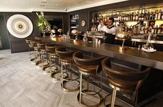 the bar at the Hotel Bel Air has gone from dusty to Hollywood glam and the bartenders are amaze, fave spot! 310-472-1211