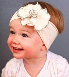 Cintillos para bebés de bautizo - Imagui