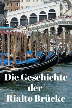 """Die Geschichte der Rialto Brücke, eines der wohl schönsten Bauwerke Venedigs. Mehr dazu auf meinem Blog oder auf der KulturApp: """"Der Leiermann"""" Venice, Blog, Classical Music, Visual Arts, Literature, Places, Landscape, Word Reading, Quotes"""