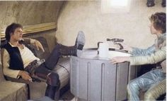 Han chilled with Greedo first!