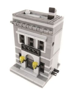 BCD Mini Modulars - 4 Buildings: A LEGO® creation by Brian Lyles : MOCpages.com