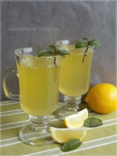 ...konyhán innen - kerten túl...: Gyömbéres-mézes limonádé
