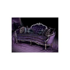 I would dress fancy just to sit on this Gothic Furniture ❤ liked on Polyvore