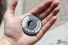 Metal Poker Chips by MyMetalBusinessCard.com #casinos #pokerchips #metalpokerchips #promotions