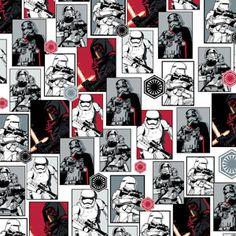 FAT QUARTER  STAR WARS STORY ROGUE ONE FABRIC  CAMELOT QUILTING COTTON  REY   FQ