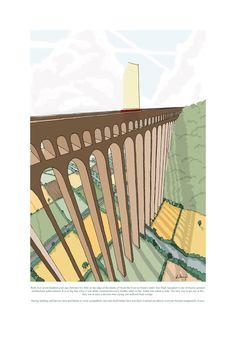 Sky High Aquaduct by Dominic Lloyd Sky High, Hand Fan, Garden Tools, Lamb, Thankful, Beautiful, Yard Tools, Baby Sheep