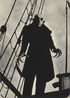 nosferatu. Only movie to ever scare the shit out of me. And it's black and white and silent!!