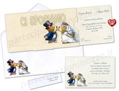Art. 110.605 - Cartoncino stampato con vignetta spiritosa orsetti.
