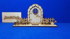 3D Fairy Door Kit Unpainted Laser Cut MDF Faerie Accessories Elf Craft Decor | Crafts, Woodworking, Other Woodworking Supplies | eBay!