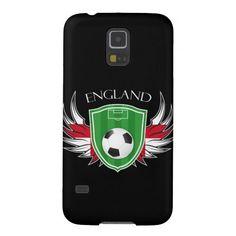 England Flag Soccer Sports Football Samsung Galaxy S5 Case.