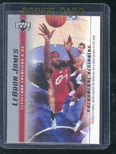 2003 Upper Deck Phenomenal Beginning #6 Lebron James Rookie Card by Upper Deck. $4.95. Nice Mint Card