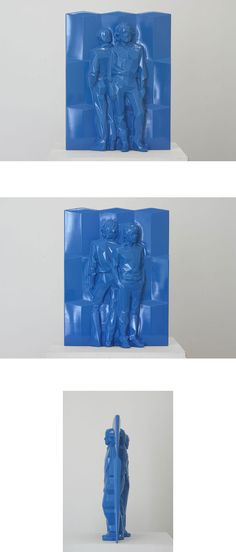 Air - Thermoformage by Xavier Veilhan Xavier Veilhan, Mobile Home, Vacuum Forming, Modernism, Art History, Sculpture Art, Modern Art, Vacuums, Blue