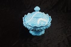 Mint Condition & Rare Blue Fenton Marble Candy by ClevelandFinds, $39.99