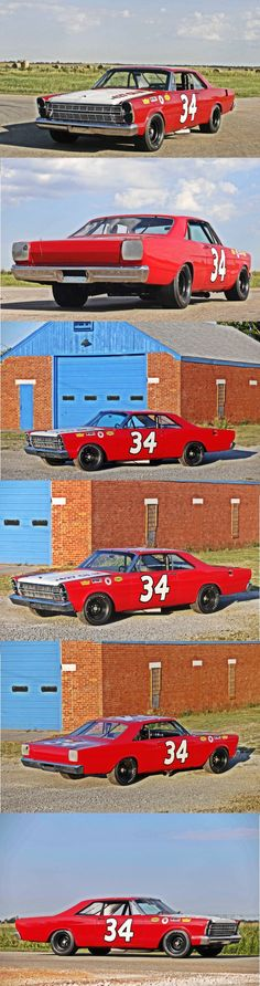 Wendell Scott, Detroit Motors, Nascar Race Cars, Cool Old Cars, Ford Galaxie, Mustang Fastback, Vintage Race Car, Ford Motor Company, Long Live