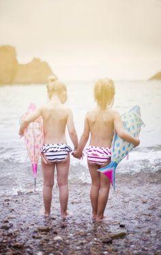 Deborah Sfez via Papier Maché #kids #summer #beach