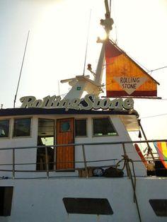 The boat that will rock is ready!!! by @RollingStoneIta