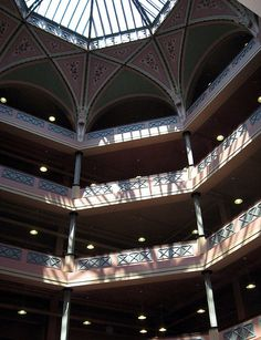 Atrium of Lofts at Shillito Place