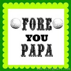 Printable golf ball photo booth prop create diy props with our printable golf gift certificates yahoo image search results yadclub Images