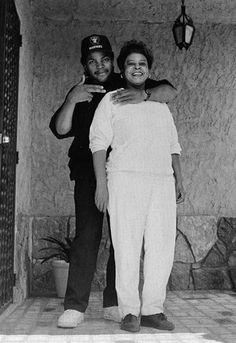 Ice Cube & his Mom