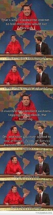 Haha SNL