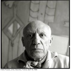 Portrait of Pablo Picasso, April 1958 by Richard Avedon Richard Avedon Portraits, Richard Avedon Photography, Pablo Picasso, Picasso Art, Picasso Pictures, America Images, Lee Jeffries, Graphic, Black And White Photography
