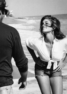 Cindy Crawford + Richard Gere, by Herb Ritts