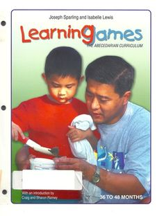 Learning Games -36-48 Months (The Abecedarian Curriculum): Joseph Sparling, Isabelle Lewis: Amazon.com: Books
