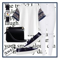 """""""shein"""" by amraa-145 ❤ liked on Polyvore featuring CÉLINE and Express"""