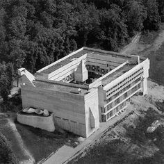 France - Sainte-Marie-de-la-Tourette Convent by Le Corbusier