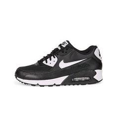 5de1a5eda5 Nike Air Max 90 Essential Classic Black White 616730 023 Kids Women 6-8.5