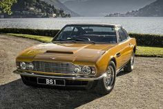 Aston Martin uit The Persuaders